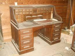 Oak Roll Top Secretary Desk by Solid Oak Roll Top Desk Value Decorative Desk Decoration