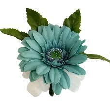 teal corsage teal silk corsage wedding corsage prom thebridesbouquet