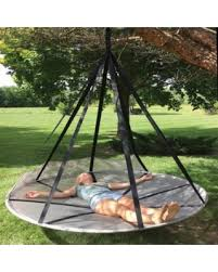 sweet deal on flowerhouse flying saucer hanging chair hammock
