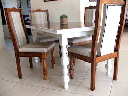 dining room cheap white leather dining chairs and dinette chairs