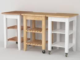 ikea bekvam ikea bekväm kitchen trolley 3d model