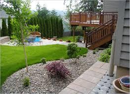 Backyard Ideas Backyard Landscape Ideas On A Budget Landscape Backyard Ideas Zamp Co