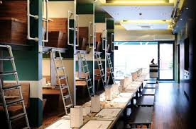 pipe and fittings in contemporary restaurant design simplified