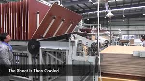 End Of Line Laminate Flooring Laminate Flooring Production Line Youtube