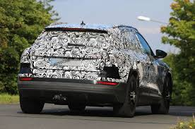 first audi audi e tron new pics of electric suv in near production guise