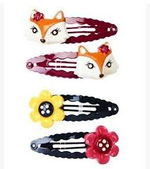 hair barettes kids hair barrettes flower and fox gymboree hairbows hairpins