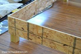 Bed Frame Diy Diy Upholstered Bed Frame