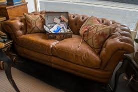 Chesterfield Sofa Used Tetrad Leather Sofas Leather Chesterfield Sofas