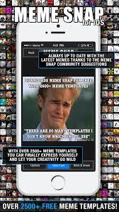 Ios Meme - meme snap 2500 free meme templates in picture memes generator