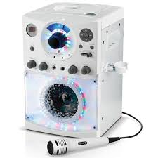 singing machine with disco lights the singing machine sml 385w disco light karaoke system amazon ca