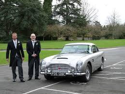 vintage aston martin db5 aston martin db5 devon classic wedding cars