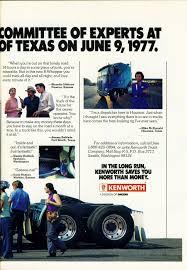 kenworth seattle photo september 1977 kenworth ad 09 overdrive magazine