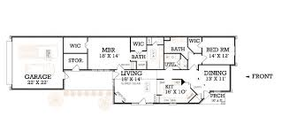narrow house plans with garage swenson downs 1503 9035 2 bedrooms and 2 5 baths the house