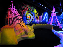 black light outdoor portable miniature golf courses for indoor and outdoor use u201cmini