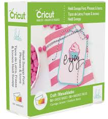 heidi swapp font phrases icons crcut cartridge