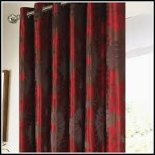 Orange And Brown Curtains Impressive Orange And Brown Kitchen Curtains Koffiekitten