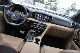 kia sportage 2017 interior 2017 kia sportage ex interior images car images