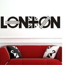 online get cheap union jack furniture aliexpress com alibaba group london underground vinyl art union jack wall sticker home decals quote uk removable decal