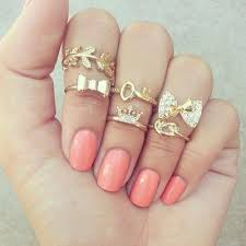 midi rings set 18 best midi rings images on midi rings nail scissors