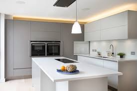 hall with kitchen design kitchen contemporary with built in