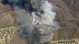 Wildfire Map August 2015 by Brush Fire Threatens Homes In Simi Valley 50 Percent Contained
