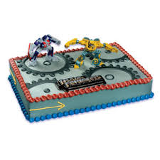 transformers cake decorations transformers cake kit cake