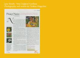 new england native plants yankee magazine jane booth new england gardens