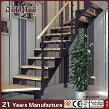 Villa Stairs Design Mild Steel Exterior Stair Design With Wood Steps View Exterior