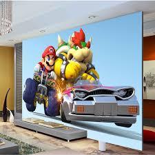 Super Mario Bedroom Decor Mario Kart Wall Decals Yoshi Mario Kart 8 Wall Decal Fathead For
