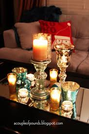 astounding candle coffee table centerpiece photo decoration ideas