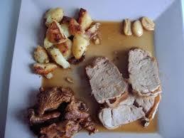 cuisiner noix de veau noix de veau braisé aux girolles la recette facile