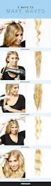 best 10 wavy hair tutorials ideas on pinterest wavy beach curls