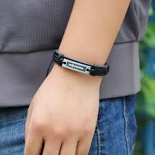 bracelet for cross leather cross bracelet for men exalted design all things