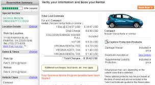 Estimated Car Insurance Cost by Rental Vehicles Fiscal Services George
