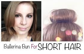 how to mold and style short hair 2015 ballerina bun for short hair mikhila com