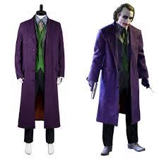 Mens Joker Halloween Costume Popular Joker Costume Buy Cheap Joker Costume Lots