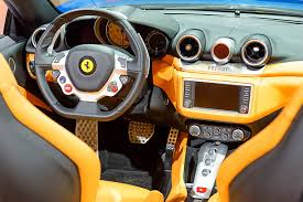 Ferrari California T Interior Ferrari California Sports Car Pictures Images And Stock Photos