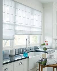 white kitchen window treatments window treatments design ideas