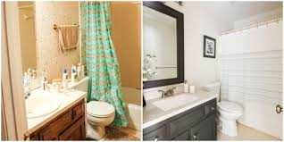 this makeover proves you don u0027t always have gut your entire bathroom