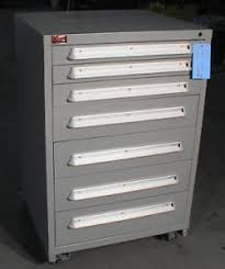 Mobile Tool Storage Cabinets 7 Drawer Lyon Mobile Tool Tooling Storage Cabinet 432 Ebay