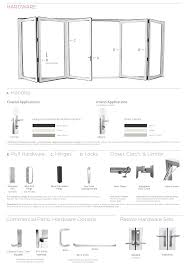 hinges for glass door folding glass walls solar innovations solar innovations