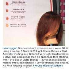 keune 5 23 haircolor use 10 for how long on hair 67 best hair color formulas step by step how to images on