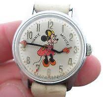 minnie mouse watches disney nurse vintage ebay