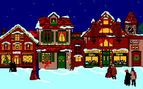 Christmas Decorated Houses Animated Pictures Of Houses Group 48