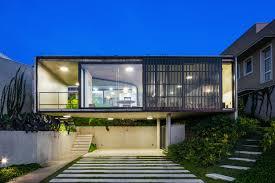 lens house by obra arquitetos in sao paulo brazil
