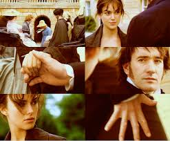 analysis what is the meaning of the emphasis on mr darcy u0027s hands