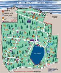 Map Me Somes Sound View Campground 3 Photos Mount Desert Me Roverpass