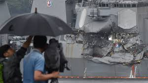 u s sailors found dead after uss fitzgerald u0027s collision with