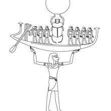 ancient egypt coloring page goddess seshat for children coloring pages hellokids com