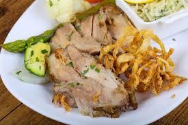 cuisine tcheque cuisine tchèque porc rôti télécharger des photos premium